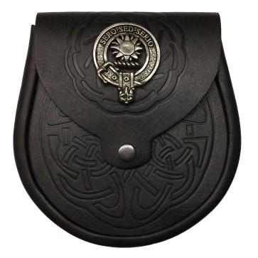 Clan Crest Sporran
