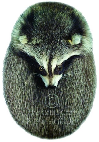 Full Mask Racoon Sporran