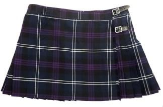 Heritage of Scotland Poly/Viscose Kilted Mini Skirt