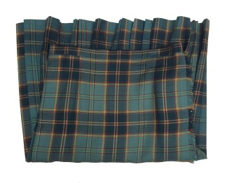 Ireland Green Kilted Skirt