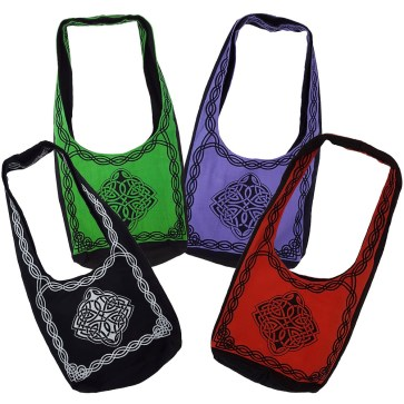 Celtic Knot Book Bags
