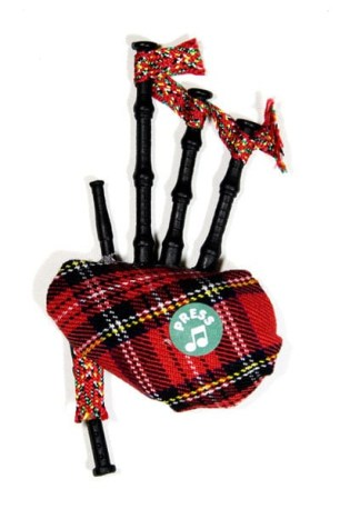 Musical Bagpipe Magnet
