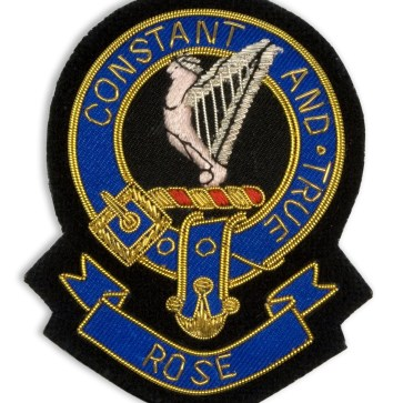Embroidered Clan Crest Badge