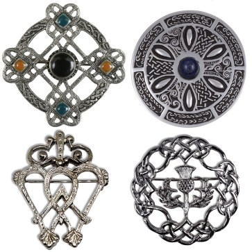 Celtic Pins and Brooches