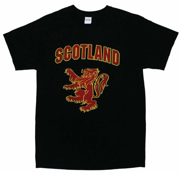 Scottish Rampant Lion