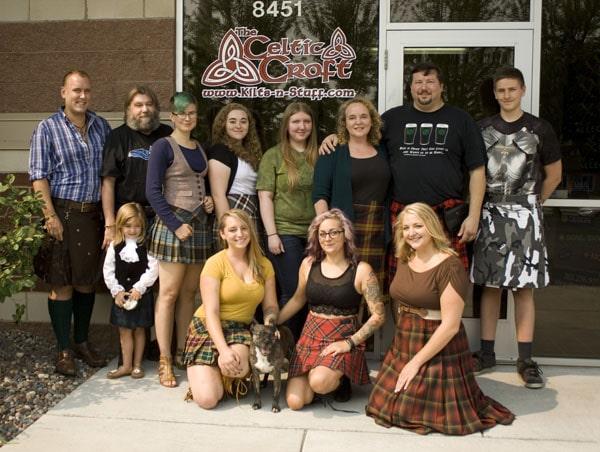 The Celtic Croft Crew 2015