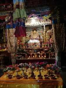 temple aug2016 butter lamps altar photo-3 copy