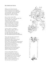 Gedicht zum Turnen