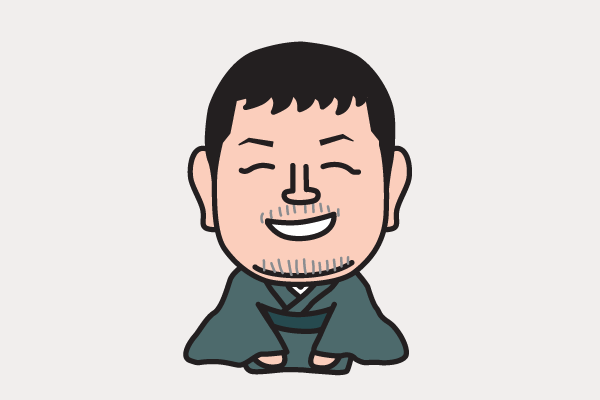 江原啓之の似顔絵画像