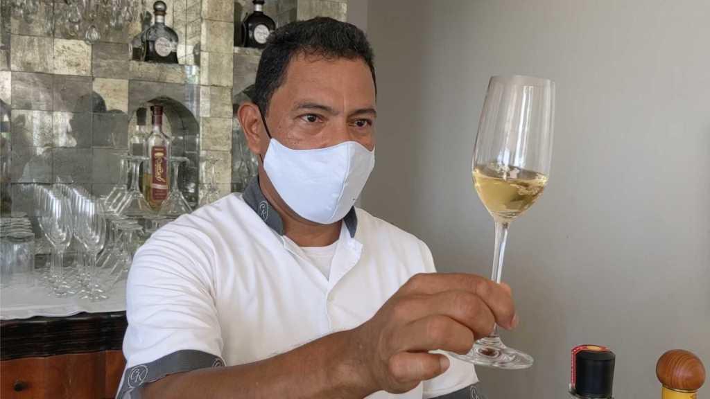 Tequila tasting at Casa Kimberly