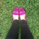 GAP berry nice suede loafers