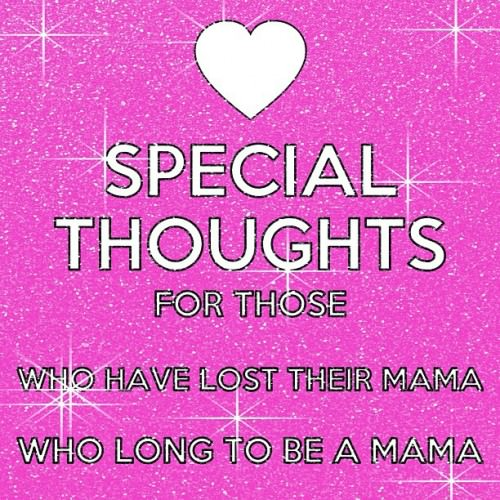 Special Thoughts for Mother's Day | Kimba Likes