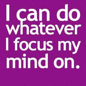focus on my mind