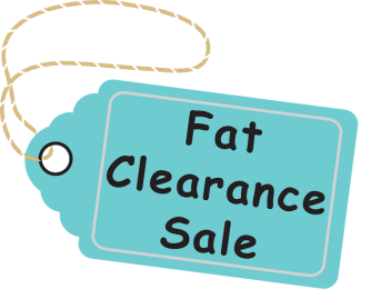 year end fat clearance