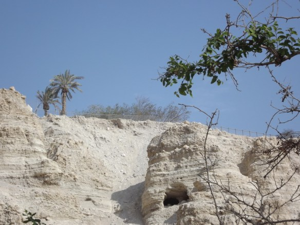 Caves where David hid from King Saul