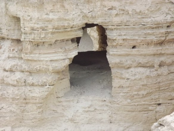 Cave where the Dead Sea Scrolls were discovered