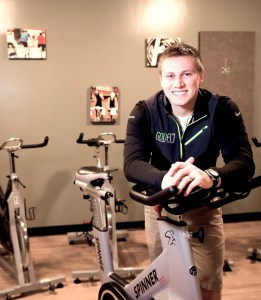 Fitness instructor John Hayden, pictured Friday, Dec. 20, 2013, is the creator of GodFit, a program that combines exercise and spirituality.