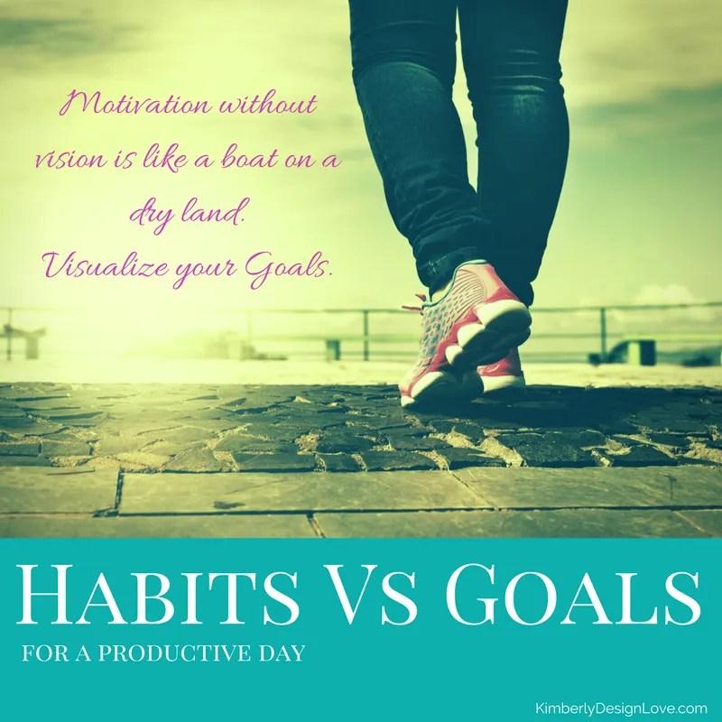 habits vs goals