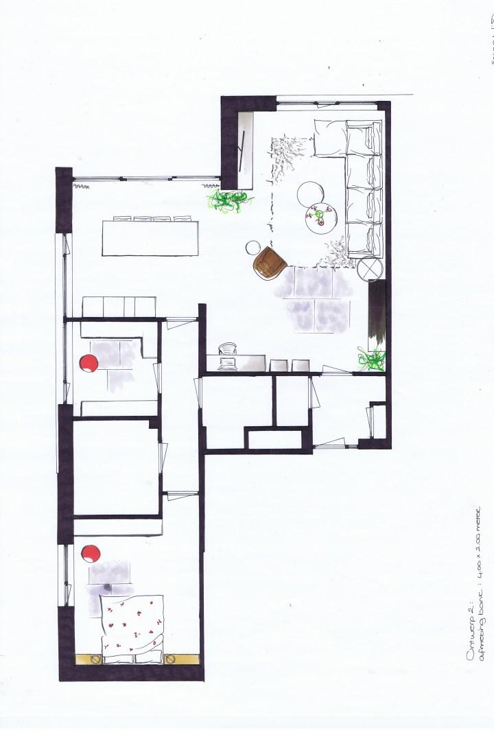 Interieurontwerp appartement in Eindhoven