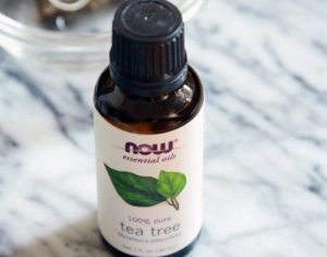 Stop acne with tea-tree oil