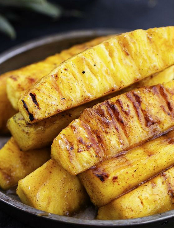 grilled-summer-fruit-pineapple