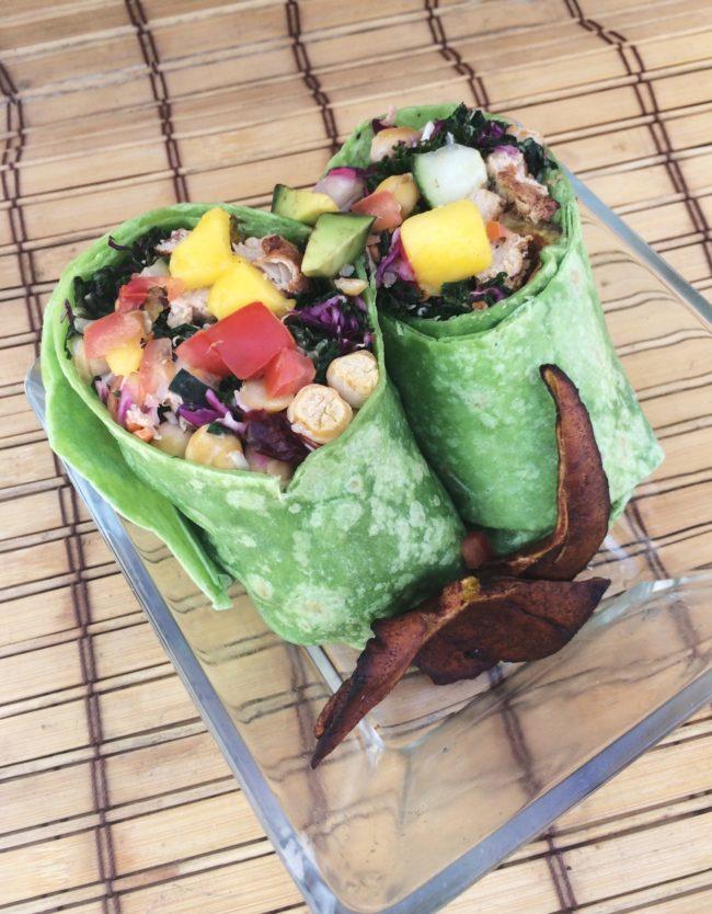 vegan myths veggie wrap