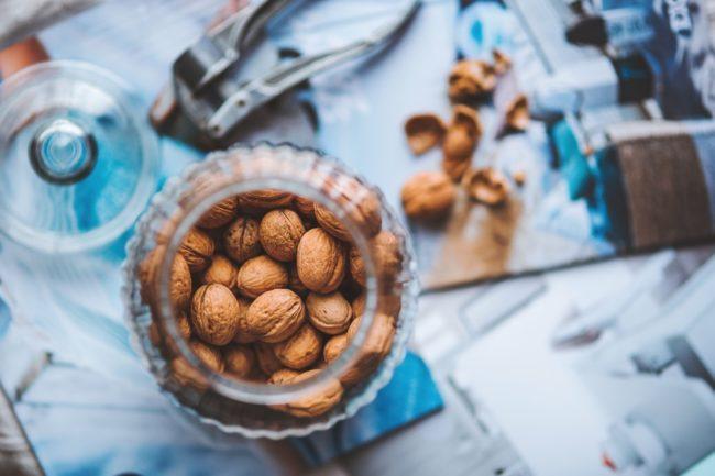 glowing skin walnuts