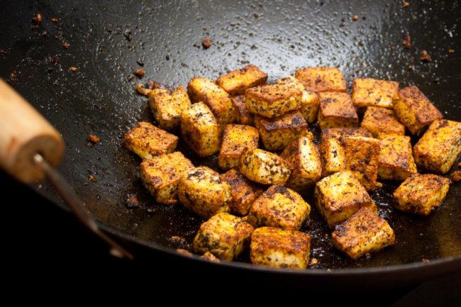 cajun tofu spicy