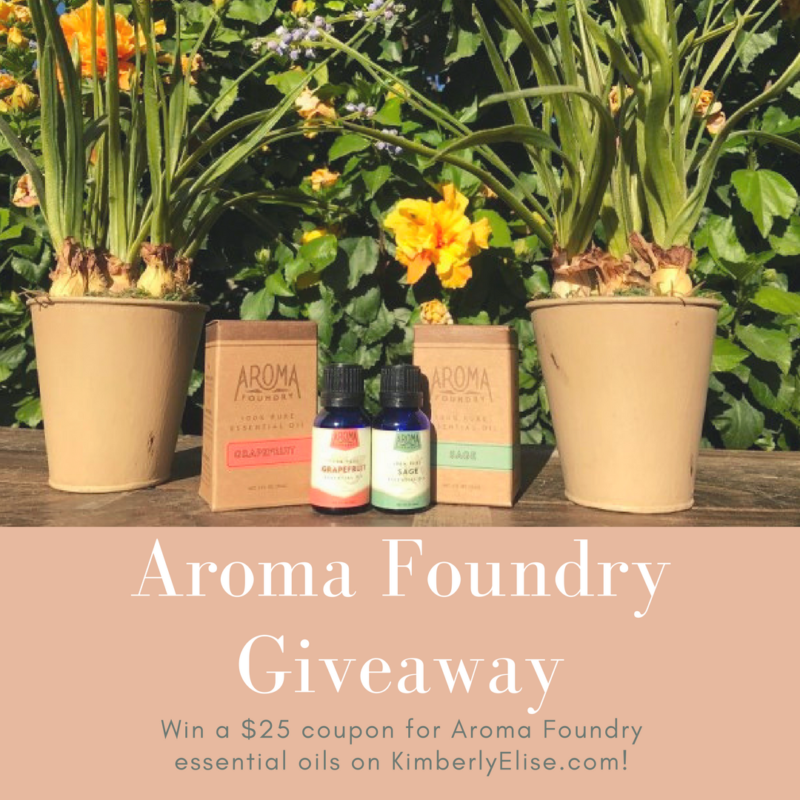 aroma foundry giveaway
