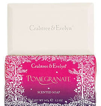 crabtree and evelyn pomegranate scented soap