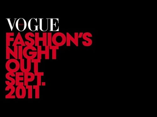 vogue fashion's night out 2011