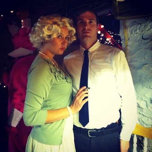betty draper and don draper halloween costume