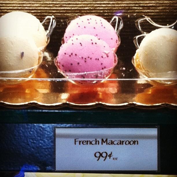whole foods market macarons closeup