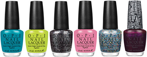 OPI nicki minaj nail polish collection
