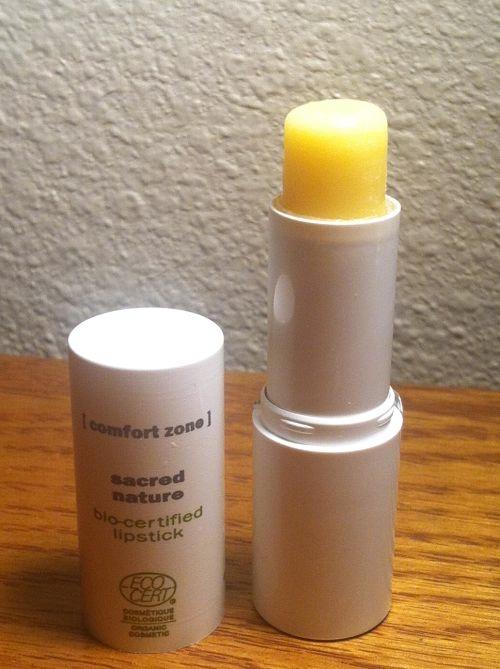comfort zone sacred nature bio-certified lipstick