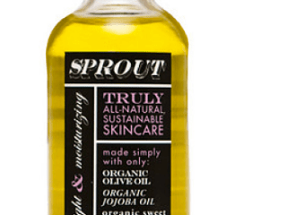 sprout truly all-natural sustainable skincare makeup remover