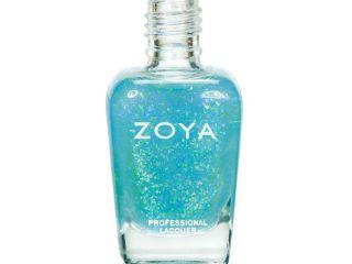 maisie zoya spring 2012 fleck effect nail polish collection