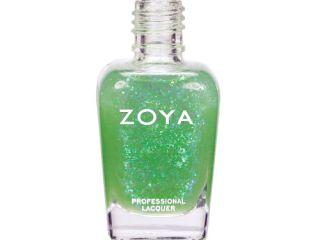 opal zoya spring 2012 fleck effect nail polish collection