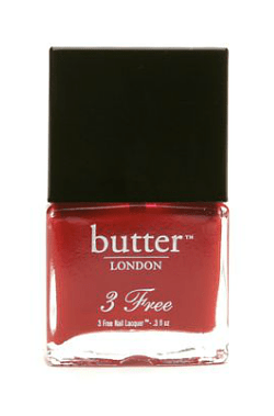 butter london pillar box red