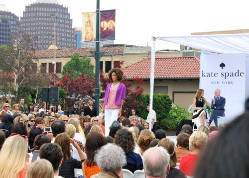 tim gunn kate spade fashion show kansas city