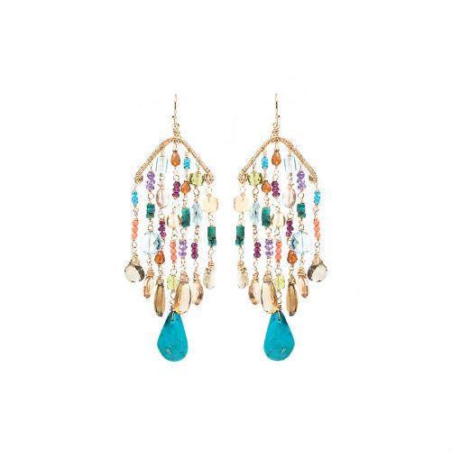 Lola earrings Amanda Sterett jewelry