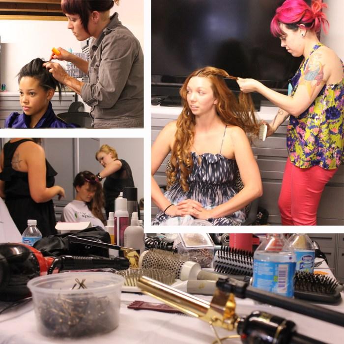 kansas city fashion week evolve hair salon