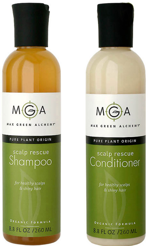 beauty scoop max green alchemy scalp rescue shampoo and