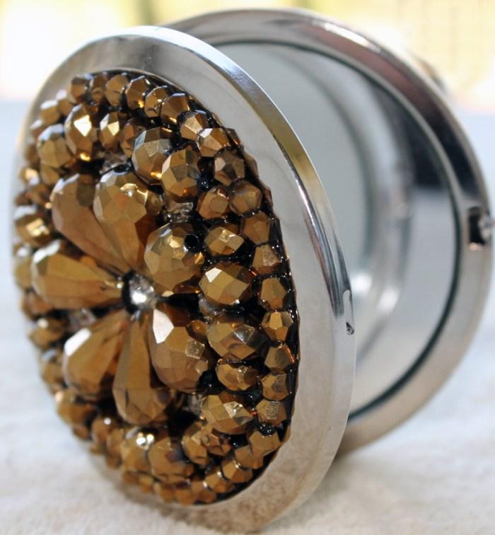 charming charlie jeweled dual compact