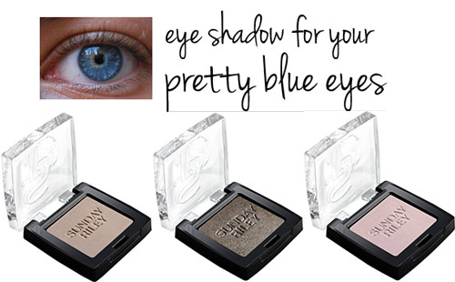 eye shadow colors for blue eyes