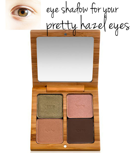 eye shadow colors for hazel eyes