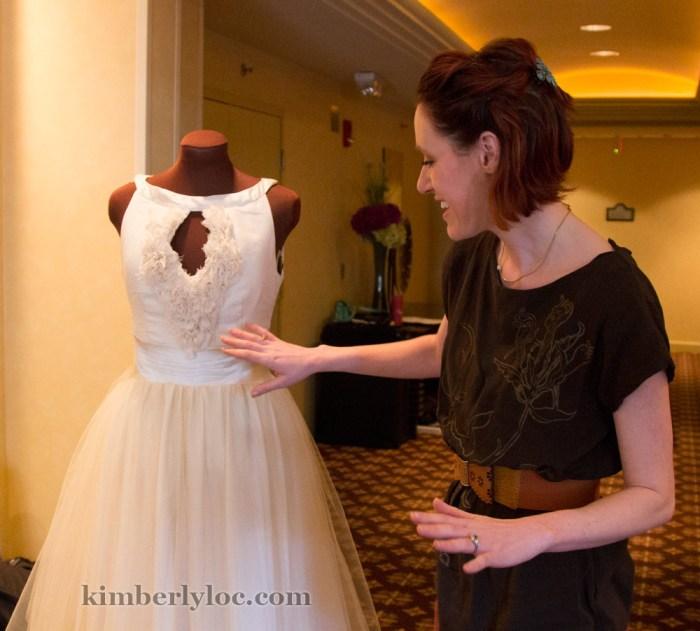 kansas city fashion week designer janay a handmade eco-friendly wedding dress designer