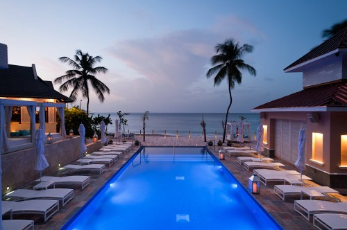 infinity pool at the bodyholiday saint lucia