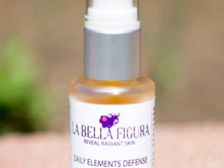 la bella figura daily elements defense face oil sacha inchi