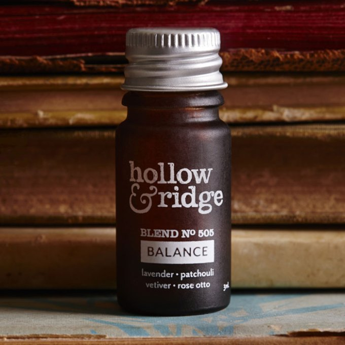 hollow and ridge balance fragrance essential oil